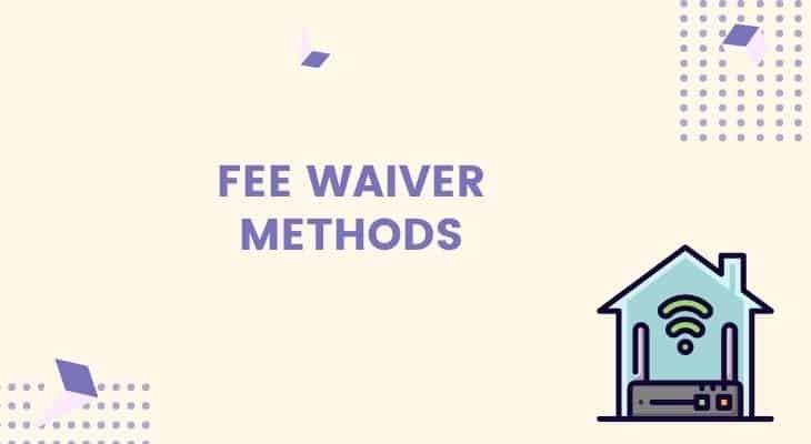 how to waive early termination fee verizon