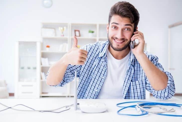 fix verizon router connection