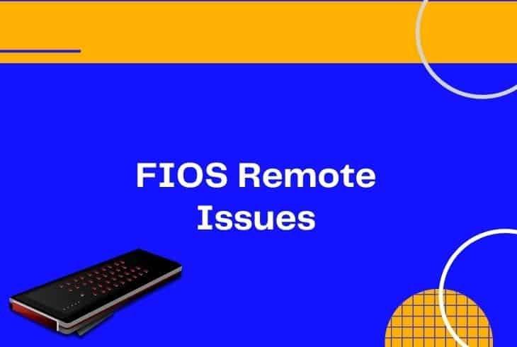 fix verizon fios remote not working