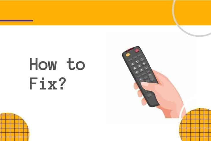 fix xfinity flex remote red light