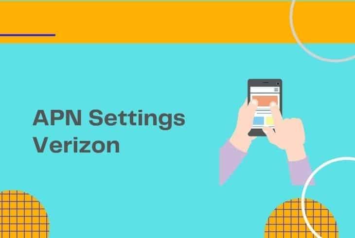 how to unlock apn settings verizon