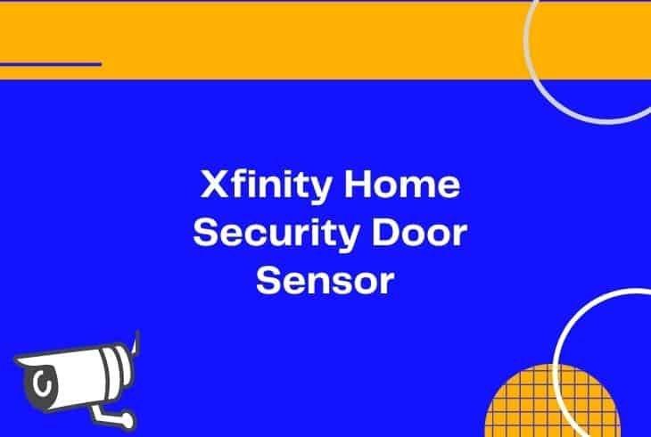fix xfinity home security door sensor not working