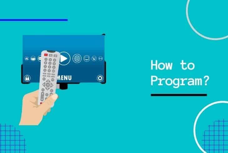 program bell satellite remote to tv