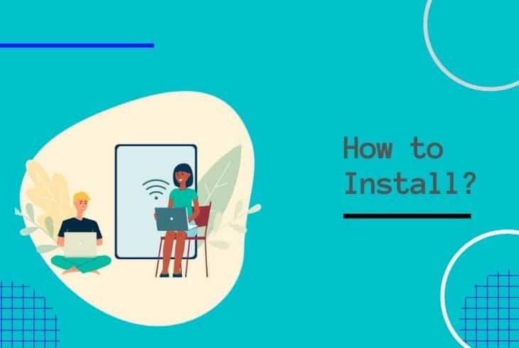 how to self-install comcast internet