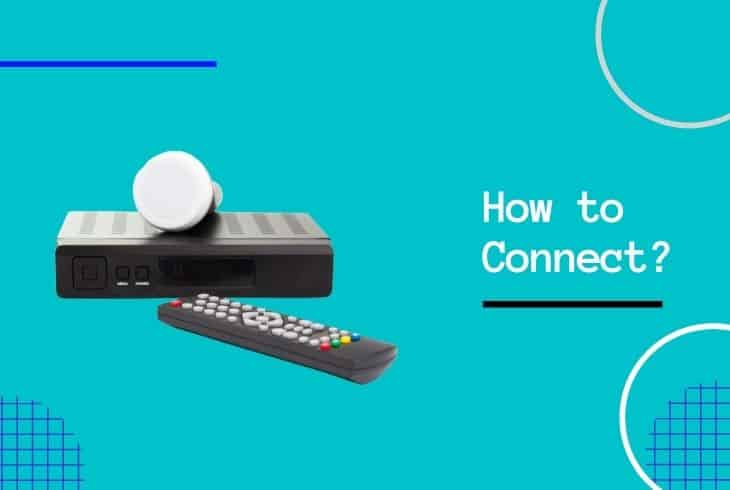 connect bell receiver to tv