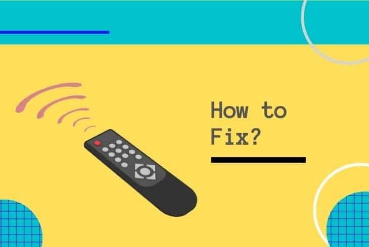fix directv remote red light stays on