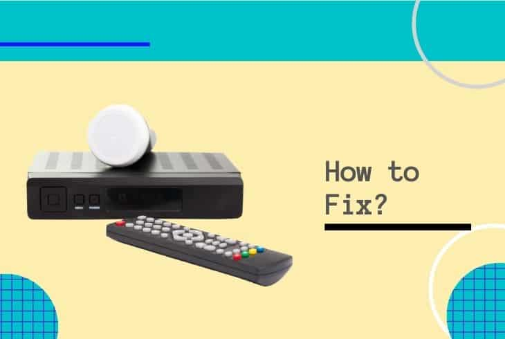 fix shaw satellite receiver not working