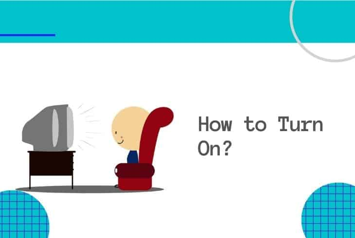 turn on tv without remote or power button