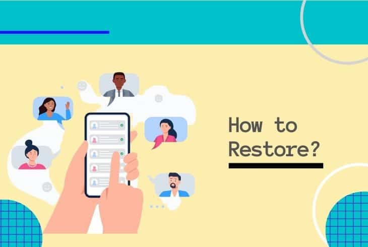 restore contacts from verizon cloud