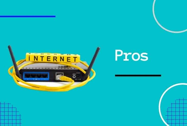 pros of turning off modem every night